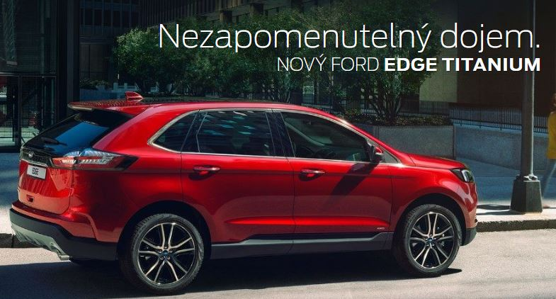 Ford Edge - bezpečné SUV