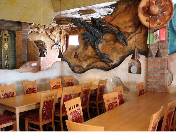 Ubytování - restaurace