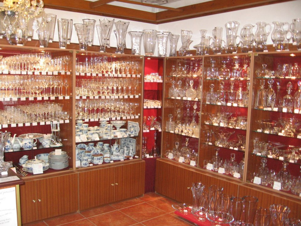 Ivan Klimt - cibulový porcelán a český křišťál, e-shop a kamenný obchod v Karlštejně