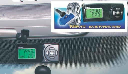 Monitorování tlaku a teploty pneu vozidel od SCHRADER