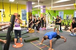 Funkční, kruhový trénink Olomouc - cvičení s vlastní vahou