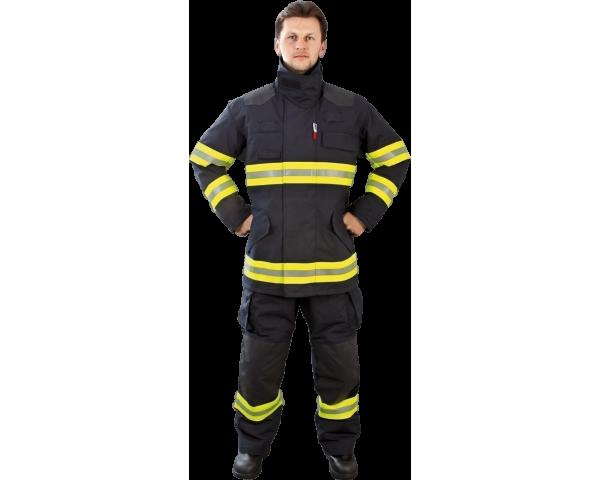 Zásahové obleky a rukavice pro hasiče