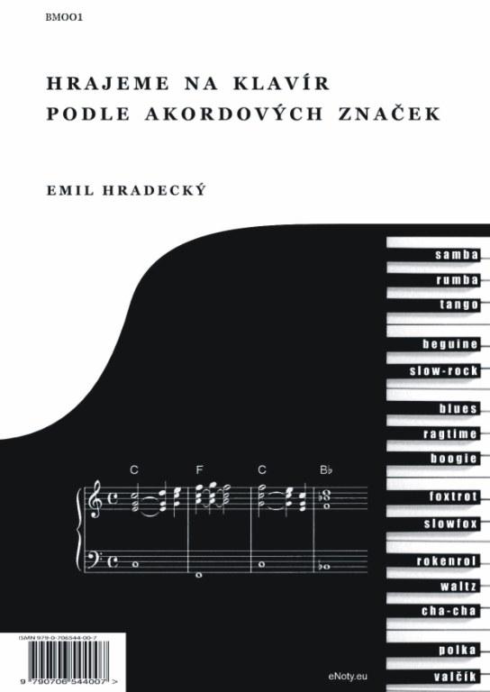 Noty pro začátečníky i pokročilé - klavír