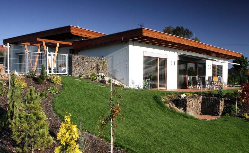 Architekt – projekty, návrhy domů, 3D vizualizace, domy ve svahu
