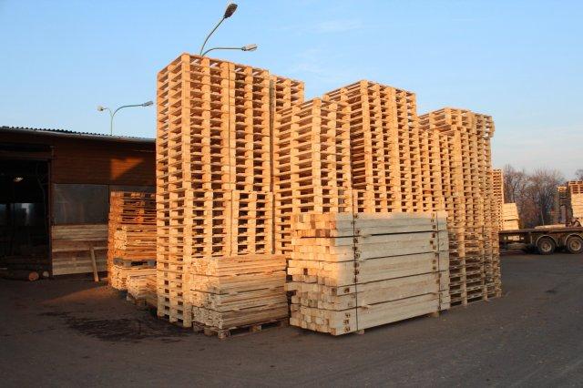 Palety Opava - výroba a prodej