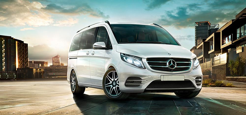 Mercedes Benz V 250 D - náhradní vůz k zapůjčení, cena dohodou