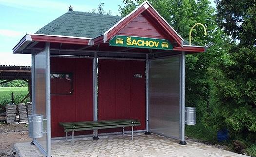 Prosklené autobusové zastávky- výroba Šumperk, Zábřeh