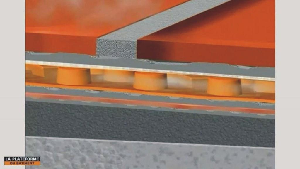 Podlahová konstrukce s kontaktní drenáží a izolací