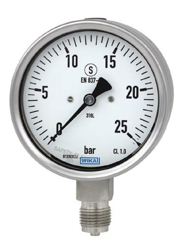 Kalibrace průmyslových manometrů, tlakoměrů nebo teploměrů