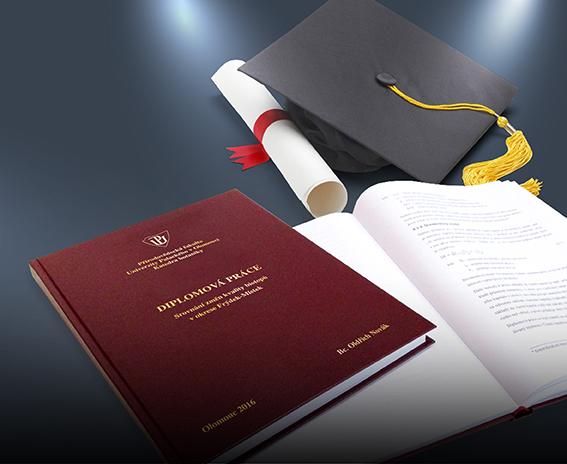 Tisk diplomové a bakalářské práce ve Frýdku-Místku