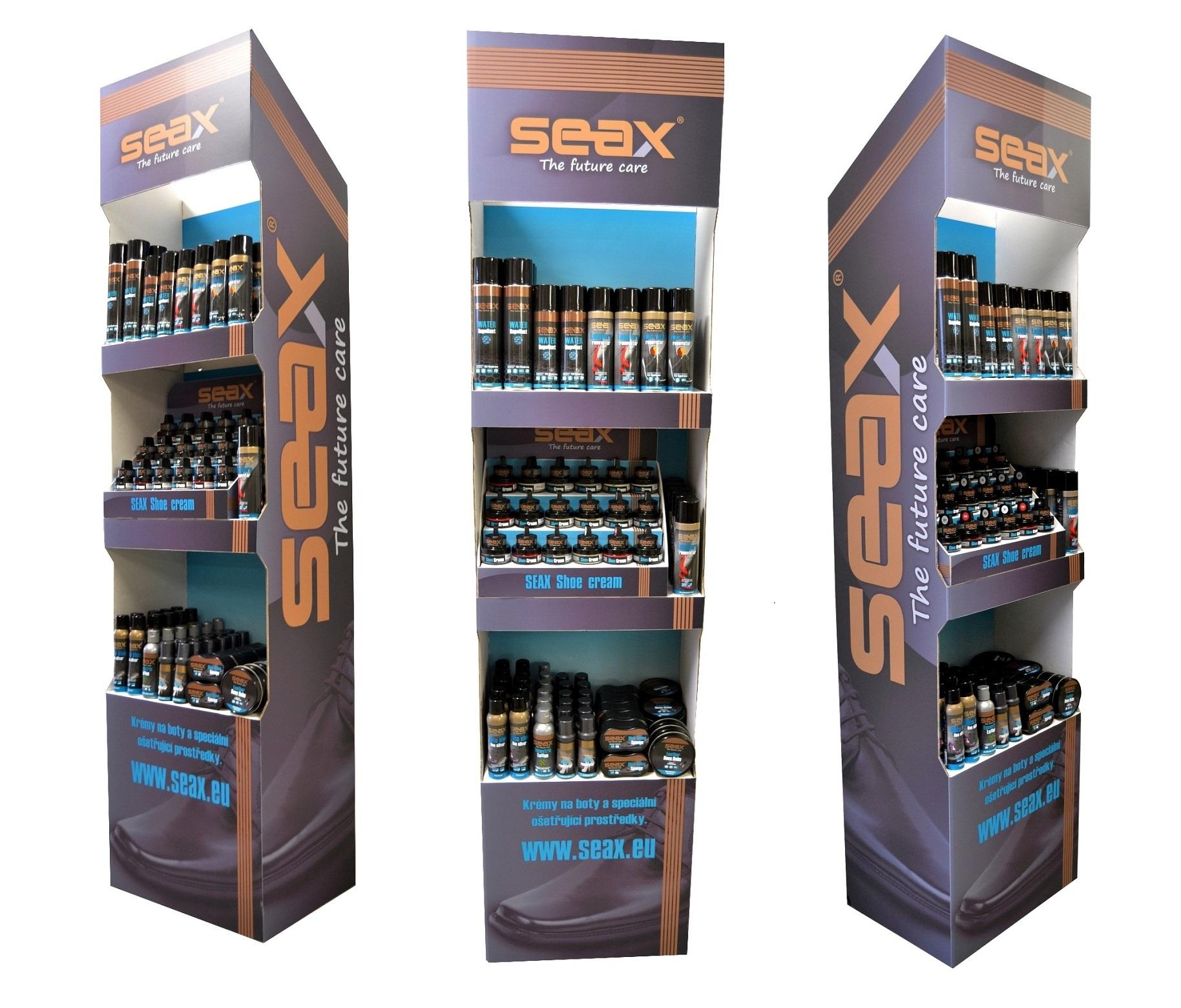 Impregnace a ochranné přípravky Seax - dokonalé ošetření obuvi