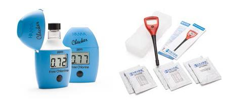 Přenosné i online analytické přístroje pro měření vody v bazénech a koupalištích