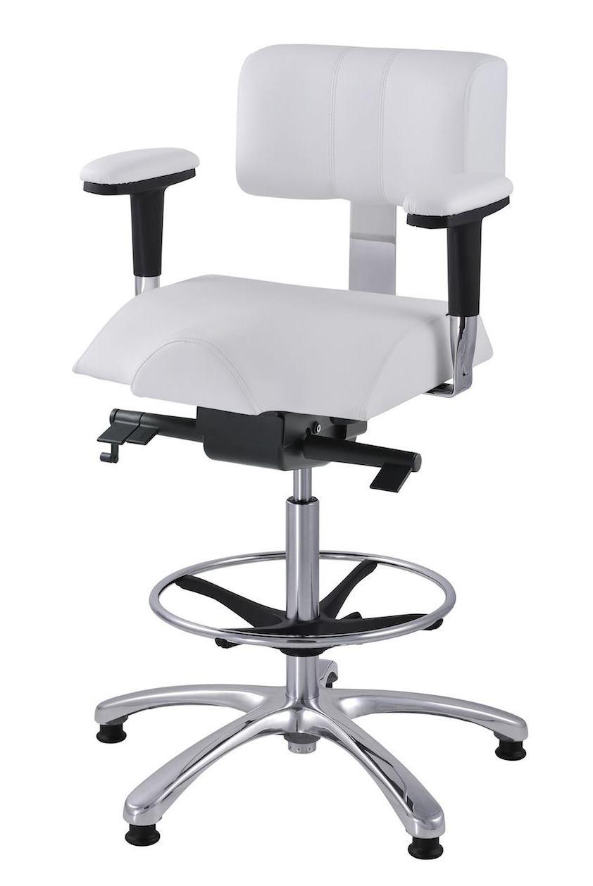 Zdravotní židle Therapia pro bezbolestné sezení pacientů i lékařů