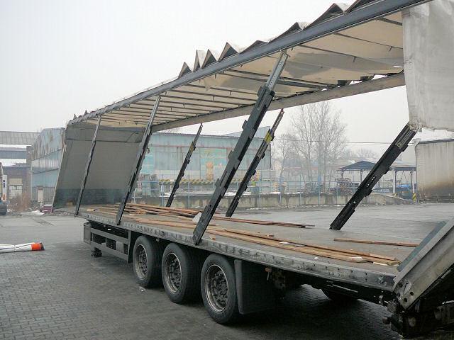 Oprava a servis havarovaných nákladních aut, návěsů a přívěsů - rovnání rámů