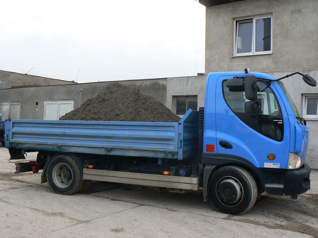 Spolehlivá přeprava stavebního materiálu