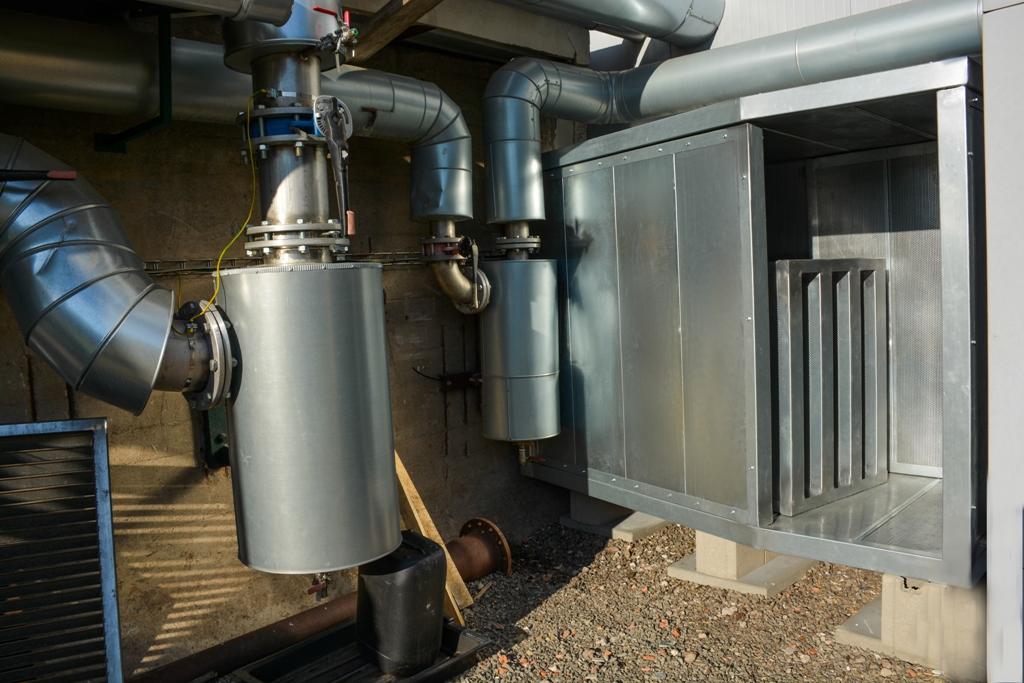 Snížení hluku v průmyslu
