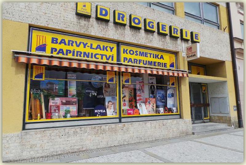 Drogerie - barvy a laky Rožnov