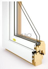 Dřevohliníková bezúdržbová okna Vysočina
