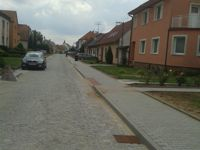 Výstavba chodníku Uherské Hradiště