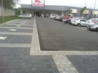Parkoviště, komunikace, chodníky Zlín