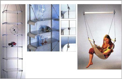 Nerezový lankový systém pro bezúdržbové konstrukce, výlohy, záclony - do interiéru i exteriéru