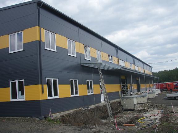 Montáž, dodávka - ocelové konstrukce, montáže hal, opláštění budov
