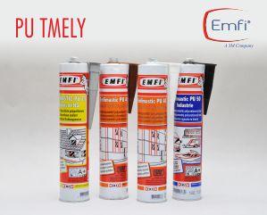Polyuretanové tmely značky EMFI pro lepení i tmelení většiny materiálů