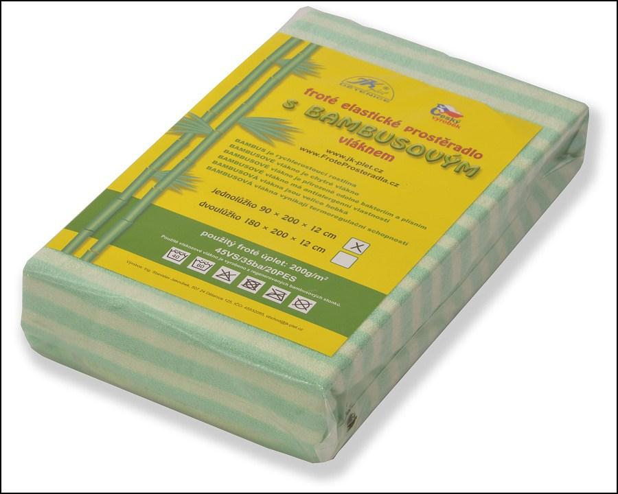 Novinka na trhu froté prostěradlo s bambusovým vláknem