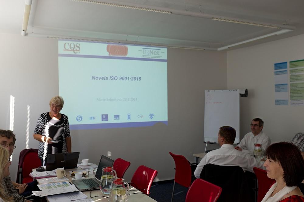 Otevřené školení - interní auditor podle normy ISO 9001:2016, ISO 14001:2016