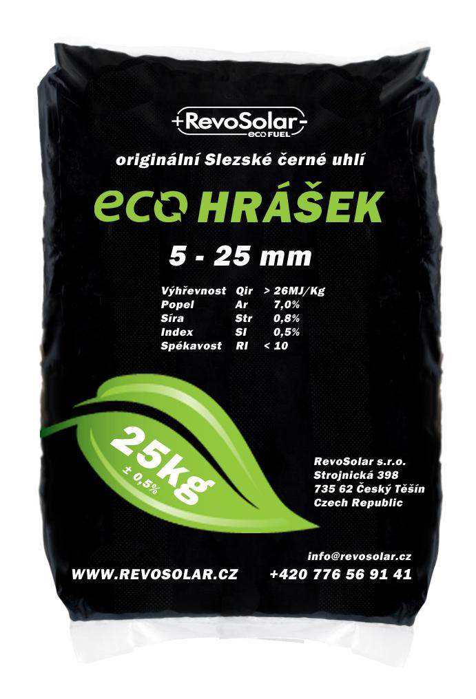 Slezské černé uhlí - Eco hrášek, prodej, rozvoz Ostrava, Bohumín