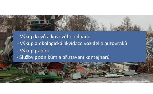 Výkup šrotu a papíru Ostrava