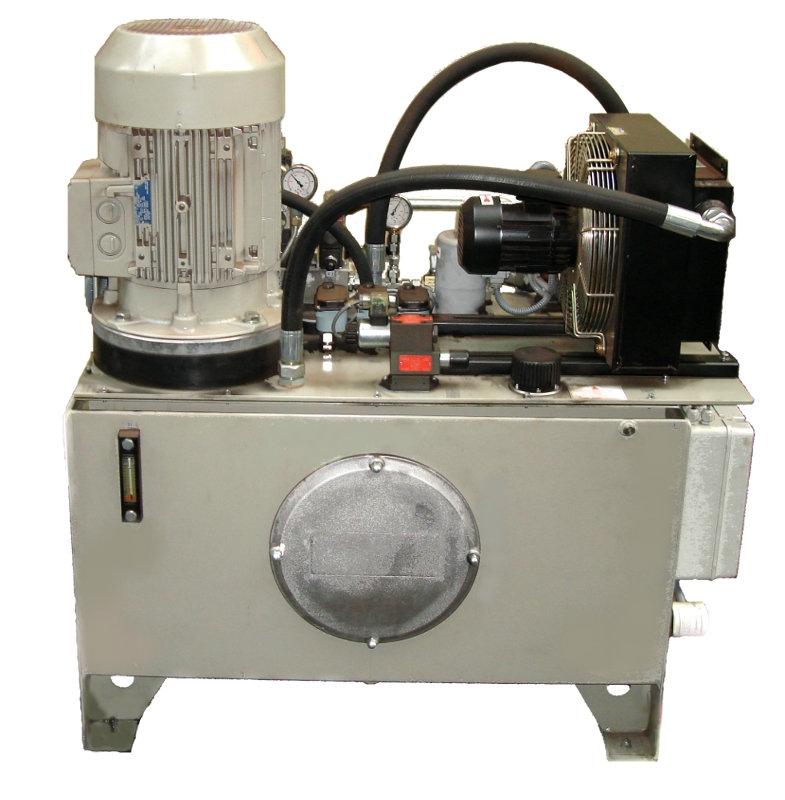 Projektování, komplexní služby hydraulických a pneumatických zařízení