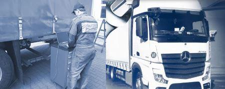Diagnostika a slaďování brzdové soustavy nákladních vozidel, přívěsů a návěsů