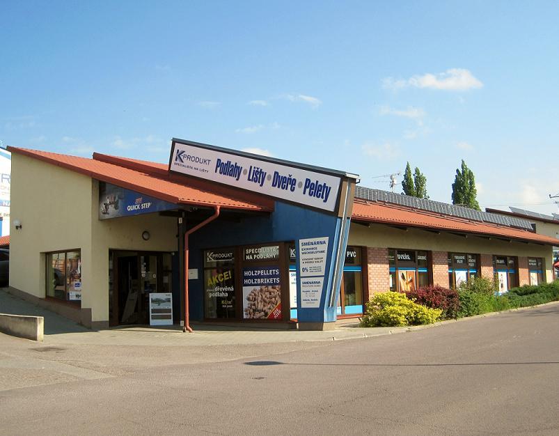 Prodejna, podlahové centrum, podlahy Znojmo