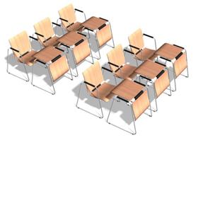 Školní a jídelní židle, stoly, rostoucí nábytek do tříd, jídelen-eshop