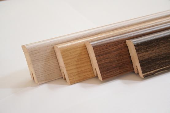 Prodej podlahových a soklových lišt, zakončení pokládky podlahy