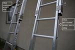 Prodej a výroba hliníkových žebříků dvojitých, kombinovaných v Jilemnici