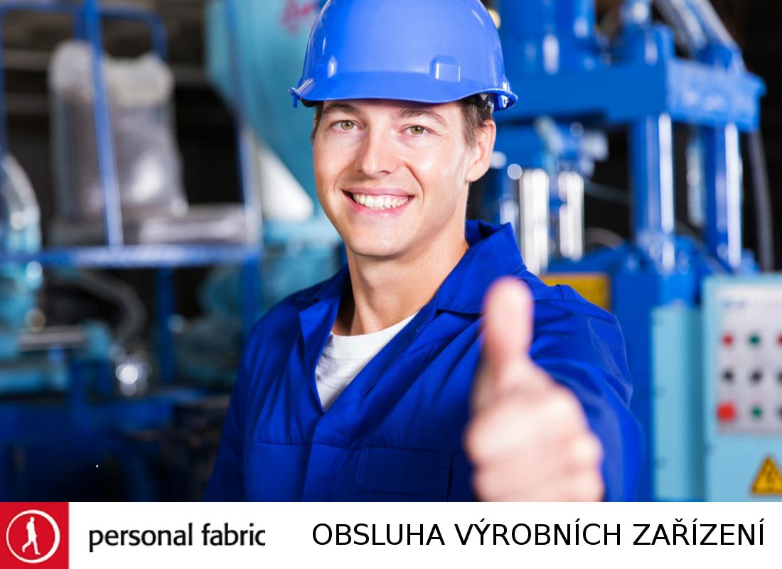 Operátor výrobního zařízení - nabídka práce