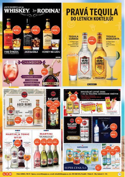 Prodej alkoholu a lihovin za super ceny ve velkoskladu