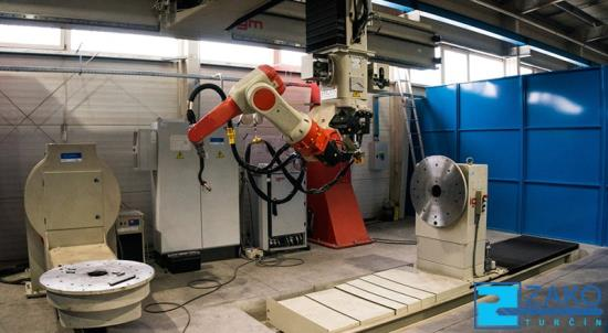 Robotické svařování-sedmiosý svařovací robot IGM 477-S