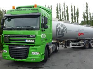 Nákladní mezinárodní a vnitrostátní kamionová doprava