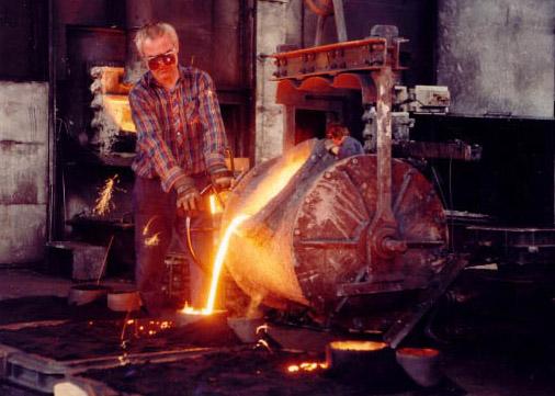 Slévárna a strojírna - kusová výroba, odlitky šedé litiny v jakosti GG 20, GG 25
