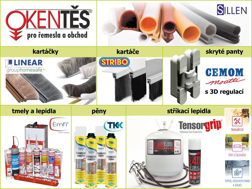 Velkoobchodní prodej pro truhláře se vzorkovou prodejnou, katalog zdarma
