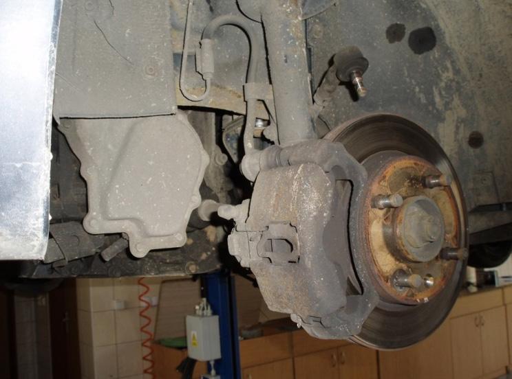 Opravy závad, prověření stavu vozidla