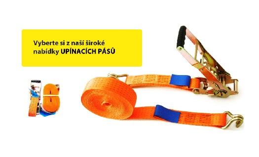 Upínací pásy s račnou a kurtny - kvalitní materiál, dlouhá životnost, široký výběr