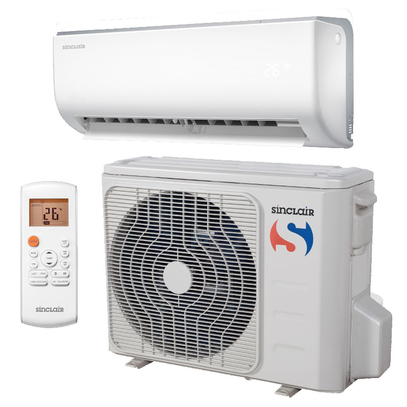 Klimatizace Fujitsu, Sinclair, Daikin do bytu, kanceláře, restaurace, haly