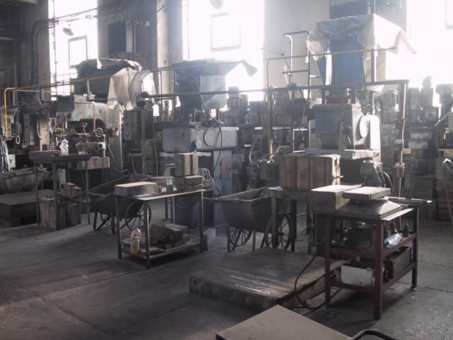 Jaderna - výroba i povrchová úprava odlitků