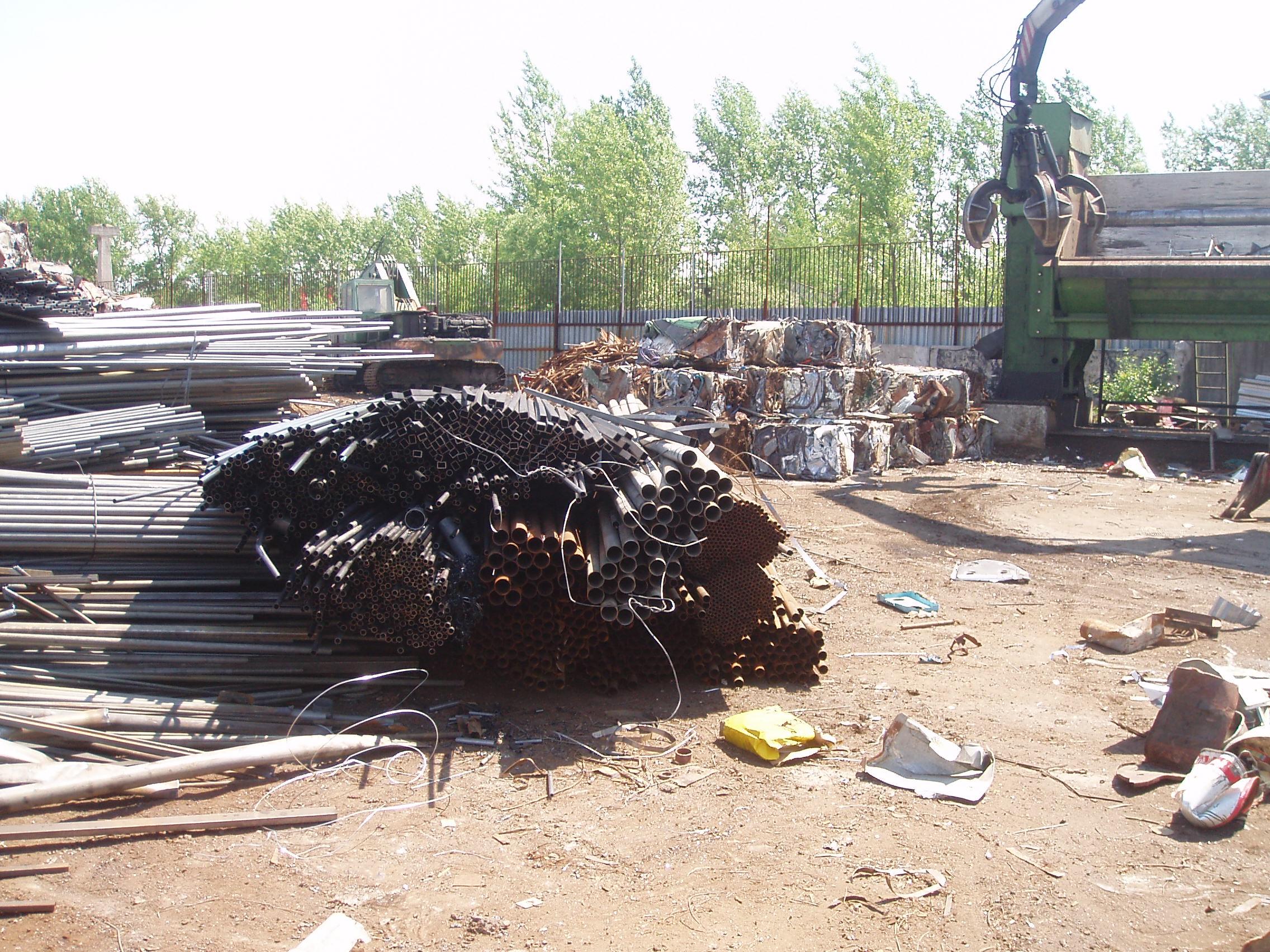 Likvidace železného odpadu Ostrava