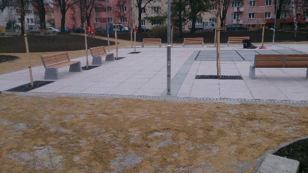 revitalizace náměstí Kroměříž