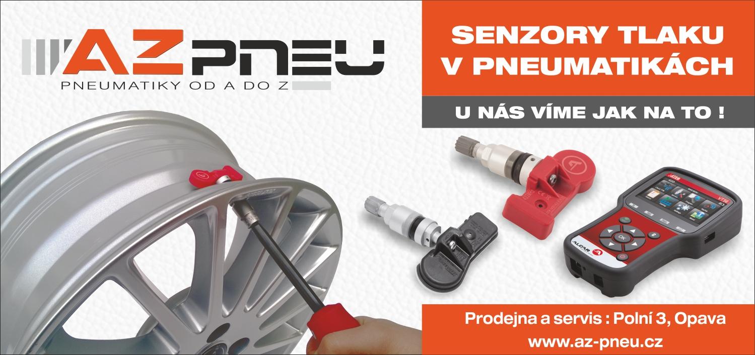 Systém TPMS - profesionální poradenství a servis senzorů pro sledování tlaku v pneumatikách